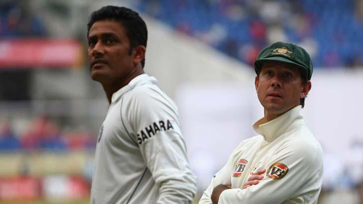 অক্টোবর, ২০০৮- অনিল কুম্বলের নেতৃত্বে অস্ট্রেলিয়ার বিরুদ্ধে ২-০ টেস্ট সিরিজ জেতে ভারত। চারটি টেস্টের মধ্যে প্রথম এবং তৃতীয় টেস্ট ড্র করে অস্ট্রেলিয়া।