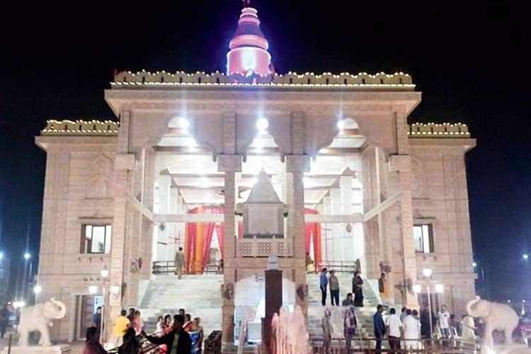 রায়পুরের শ্রীরাম মন্দির। নিজস্ব চিত্র