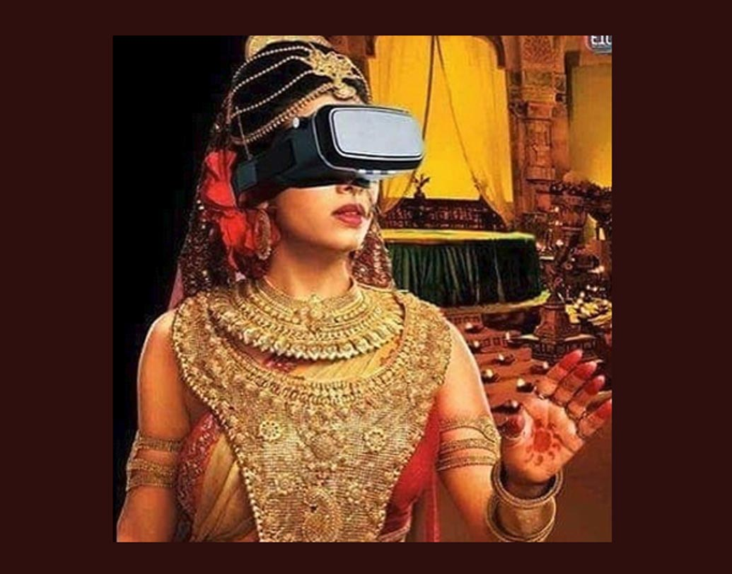 প্রথম থ্রি-ডি গ্লাসের 'আবিষ্কার' হয়েছিল কিন্তু মহাভারতের যুগেই। তাই চোখে পর্দা থাকলেও গান্ধারী সবই দেখতে পেতেন।