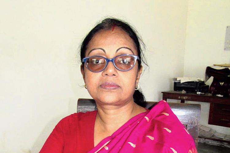 সোমা তিওয়ারি। নিজস্ব চিত্র