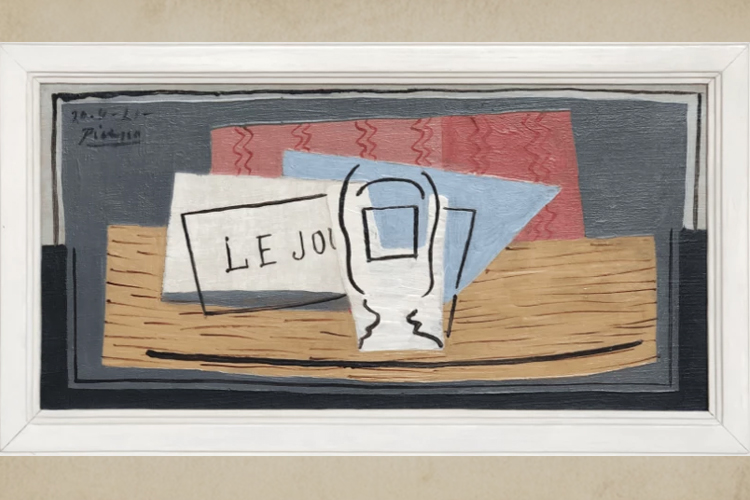 'নেচার মোরতে'। ১পিকাসো১০০ইউরোস ডট কম ওয়েব সাইট থেকে নেওয়া ছবি