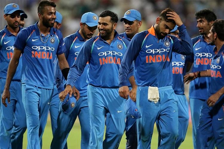 বিরাট কোহালির নেতৃত্বাধীন ভারতীয় ক্রিকেট দল। ছবি বিসিসিআইয়ের সৌজন্যে।
