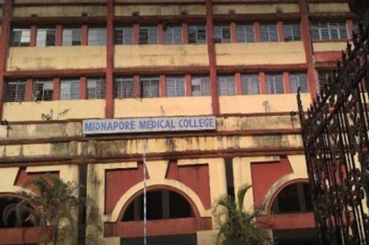 মেদিনীপুর মেডিক্যাল কলেজ হাসপাতাল। ফাইল চিত্র।