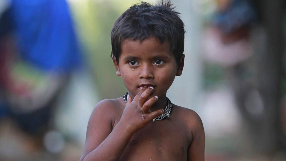 ভারতে চাইল্ড স্টান্টিং-এর হার ৩৭.৪ শতাংশ।