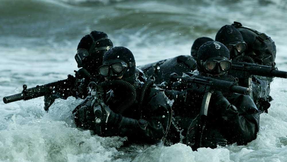 নৌবাহিনীর বিশেষ কমান্ডো বাহিনী বা মারকোস। —ফাইল চিত্র।