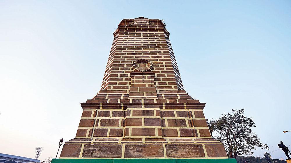 শ্রদ্ধা: কলকাতায় প্রথম বিশ্বযুদ্ধে শহিদদের স্মরণে স্মৃতিস্তম্ভ। ছবি: দেশকল্যাণ চৌধুরী
