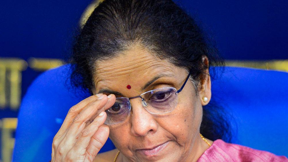 নির্মলা সীতারামন। ছবি: পিটিআই।