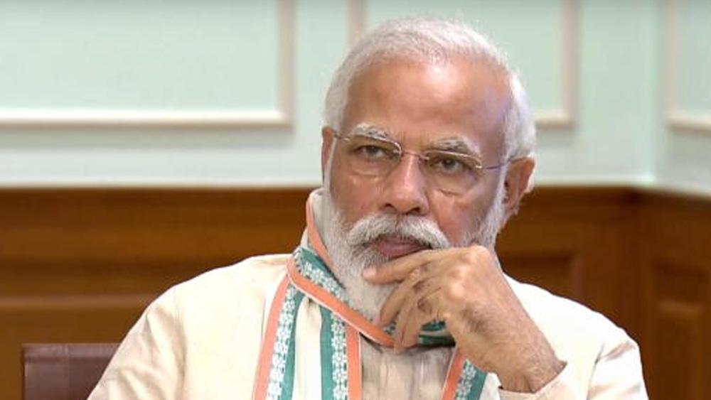 প্রধানমন্ত্রী নরেন্দ্র মোদী। ছবি: পিটিআই।