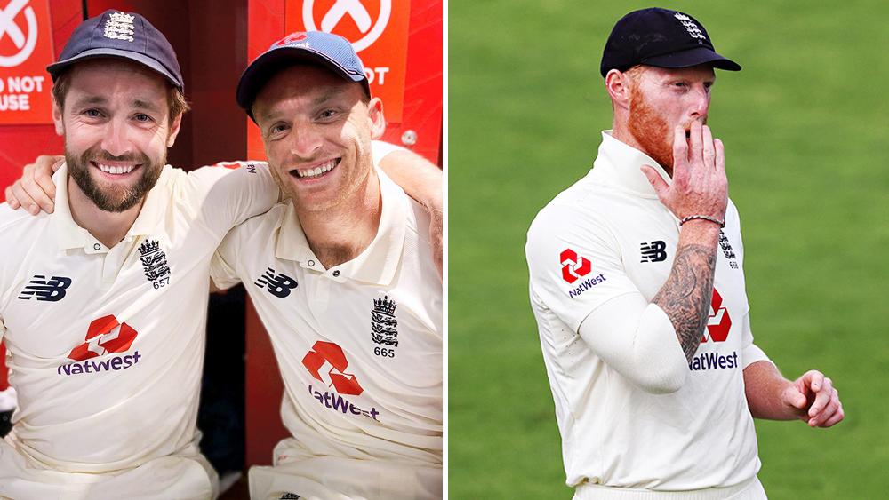 জুটি: পাকিস্তানকে হারানোর দুই কান্ডারি ওক্স ও বাটলার। ছবি: টুইটার। (ডান দিকে) শেষ দুই টেস্টে ইংল্যান্ড পাচ্ছে না স্টোকসকে। ফাইল চিত্র