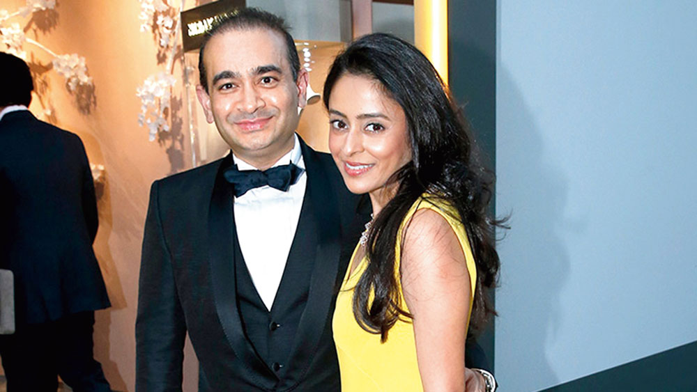 নীরব এবং অ্যামি মোদী।