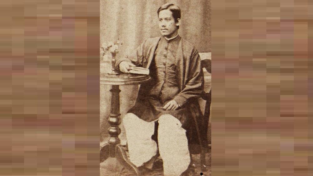 বিস্মৃত: সোমেন্দ্রনাথ ঠাকুর। ছবি সৌজন্য: রবীন্দ্র ভবন, বিশ্বভারতী