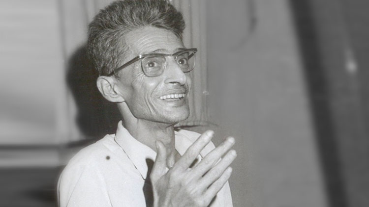 নকশালপন্থী নেতা চারু মজুমদার।