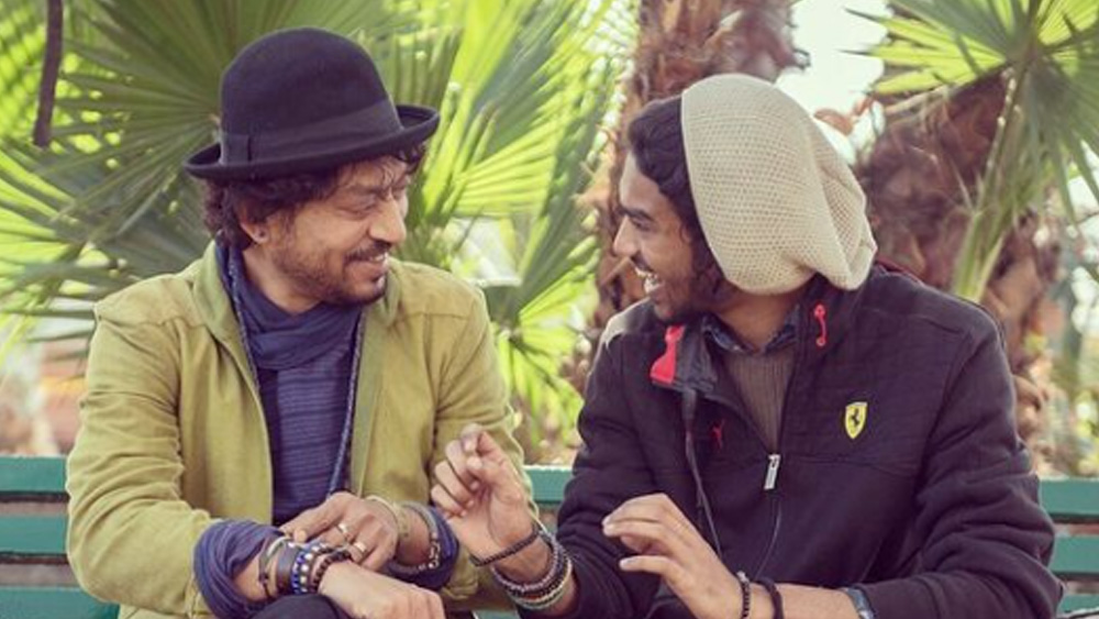 ইরফান খান ও বাবিল