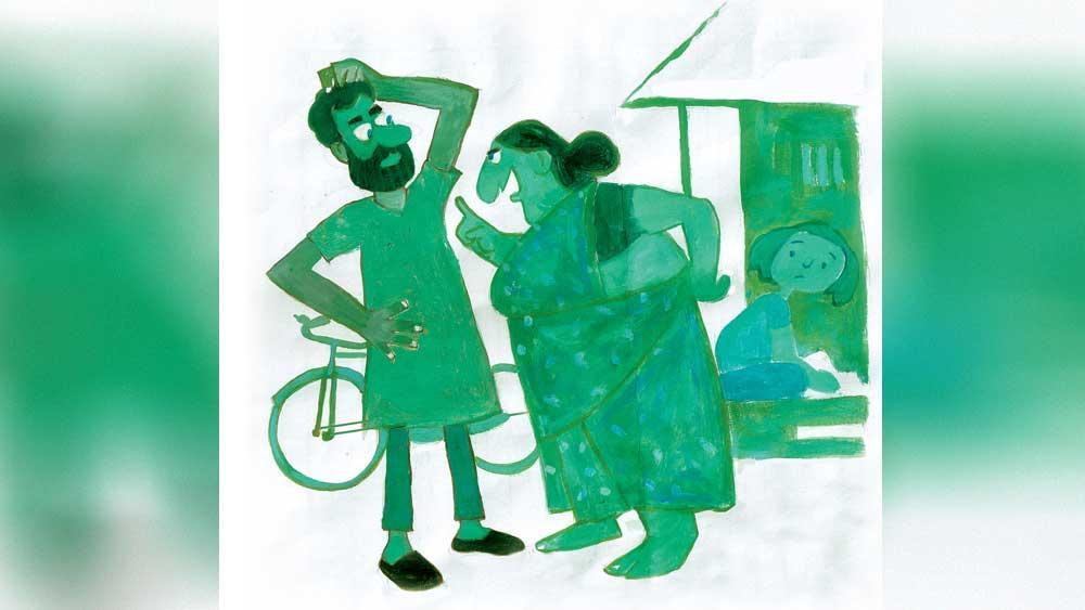 ছবি: প্রসেনজিৎ নাথ।