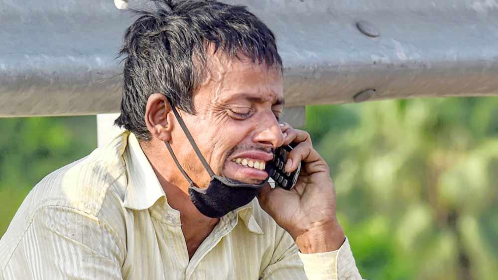 সেই ছবি: নিজামুদ্দিন ব্রিজে রামপুকর। পিটিআইয়ের ফাইল চিত্র