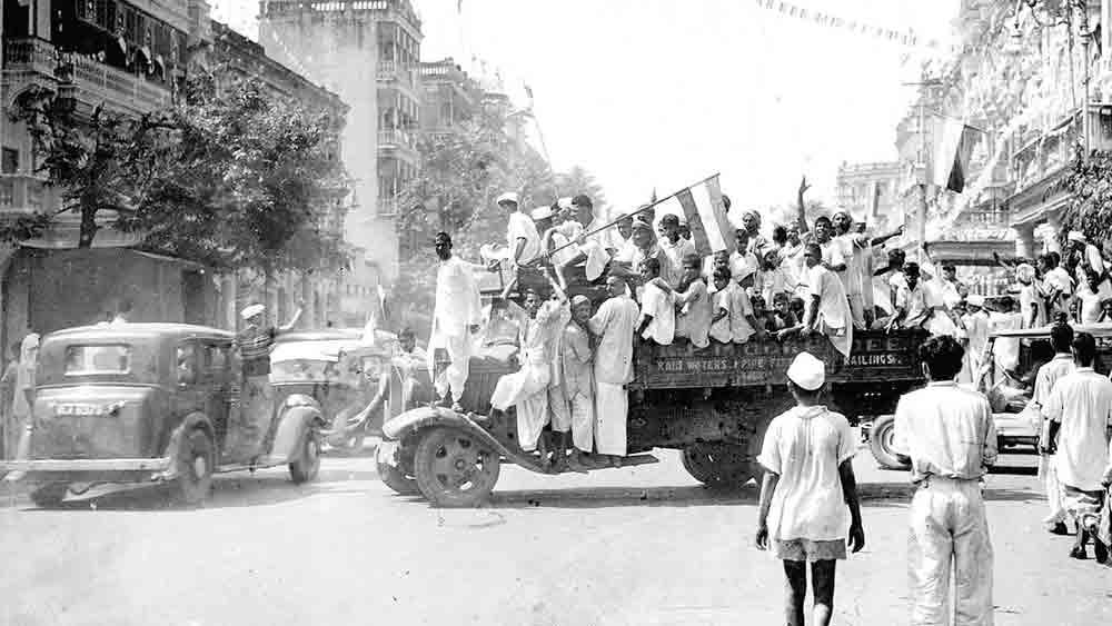 নবযুগ: কলকাতা শহরে স্বাধীনতার আনন্দ উদ্যাপন, ১৫ অগস্ট, ১৯৪৭