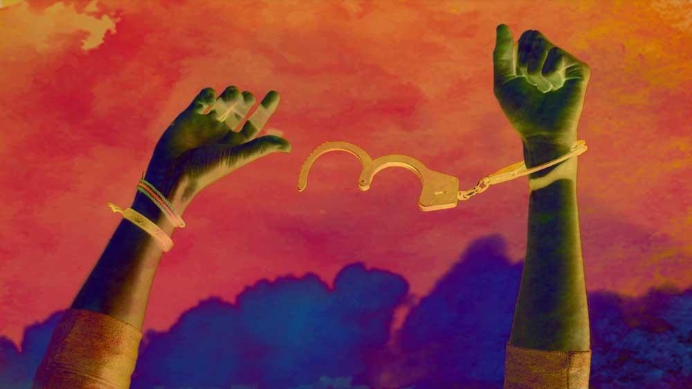 আষ্টেপৃষ্ঠে শিকলে বাঁধা আমরা জানিও না সভ্যতার দোহাইয়ে, সংস্কৃতির অজুহাতে নিজেদের হাত-পা কী ভীষণ রোজকার লোহার নিগড়ে বেঁধে ফেলেছি!