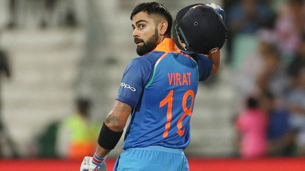 আন্তর্জাতিক টি-টোয়েন্টি ক্রিকেটে বিশ্বের সব থেকে বেশি রান কোহলীর। ৯০ ম্যাচে ৩ হাজার ১৫৯ রান রয়েছে তাঁর। গড় ৫০-এর উপরে। ২৮টি অর্ধশতরানও রয়েছে।