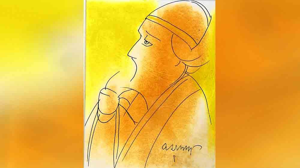 সৌম্যমূর্তি: দেবভাষা গ্যালারির 'কবিপক্ষ' প্রদর্শনীর চিত্রকর্ম