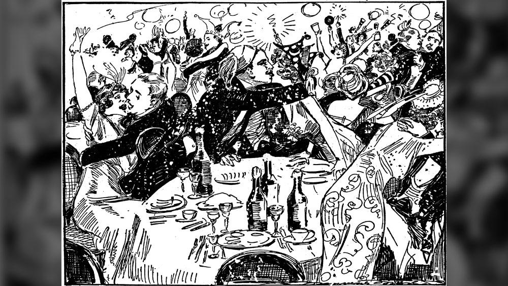 ৮। ব্রিটিশ উপনিবেশ কলকাতার অন্যতম আকর্ষণ ছিল গ্র্যান্ড হোটেলের নববর্ষের পার্টি। সেখানে শ্যাম্পেনের ফোয়ারা ছুটত। দামি উপহারের পাহাড় জমত। অভিনব ছিল বলরুমের আসর। বলা হয়, সেখানে ছেড়ে দেওয়া হত ১২টি শূকরছানাকে। অতিথিদের মধ্যে যদি কেউ একটিকে ধরতে পারে, তবে সেটি তাঁর।