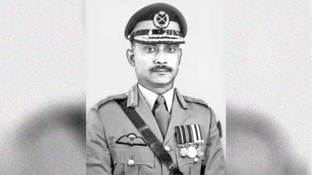 জিয়াউর রহমান।