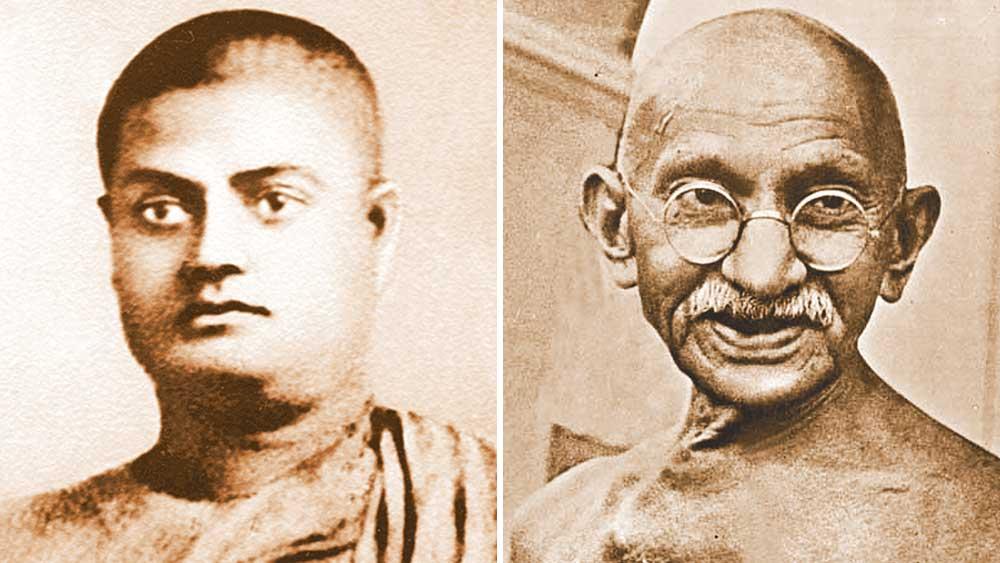 দেশপ্রেমিক: স্বামী বিবেকানন্দ ও মহাত্মা গাঁধী— ভাবাদর্শের দিক থেকে গভীর একাত্মতা ছিল দু'জনের মধ্যে