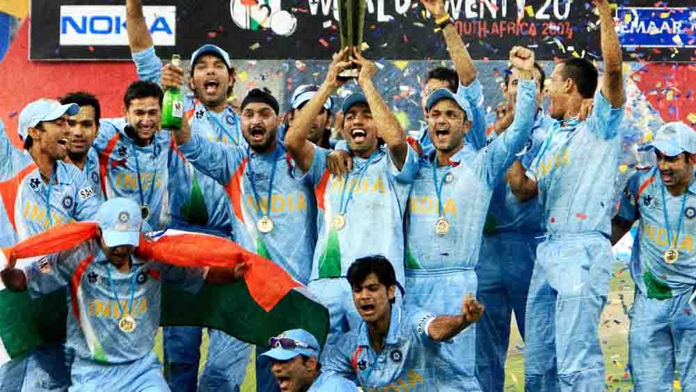 ২০০৭ সালে ভারতের টি২০ বিশ্বকাপ জয়।