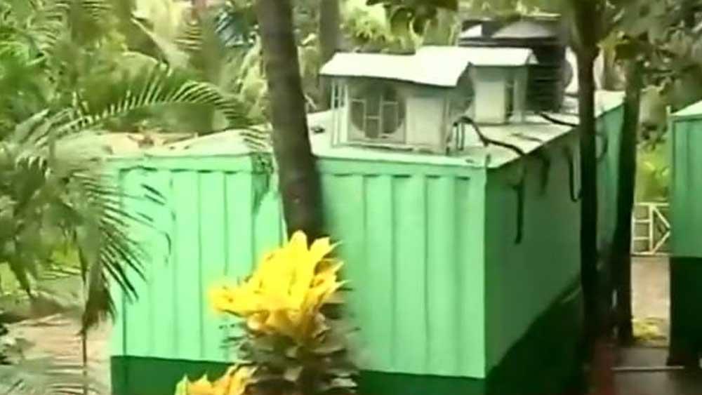 বাংলোর মেকআপ রুম