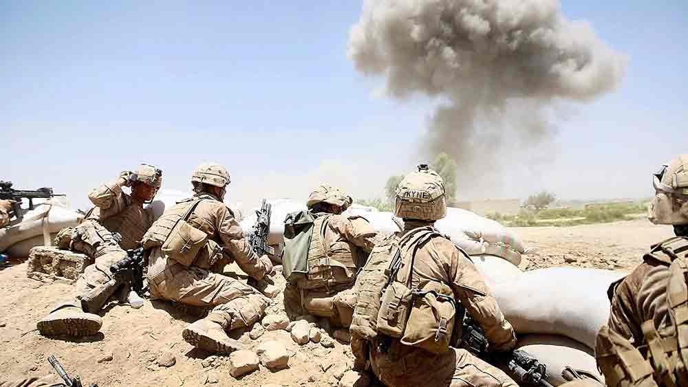 যুদ্ধক্ষতি: আফগানিস্তানে তালিবানদের বিরুদ্ধে প্রতিরোধ। (ছবি: গেটি ইমেজেস)