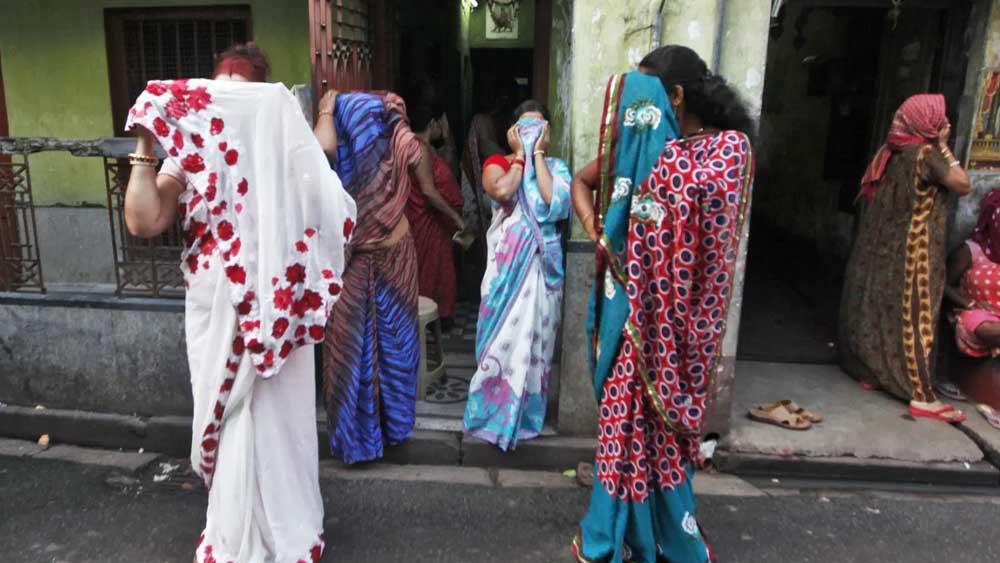 কলকাতার যৌনপল্লি।