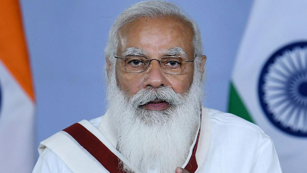প্রধানমন্ত্রী নরেন্দ্র মোদী।