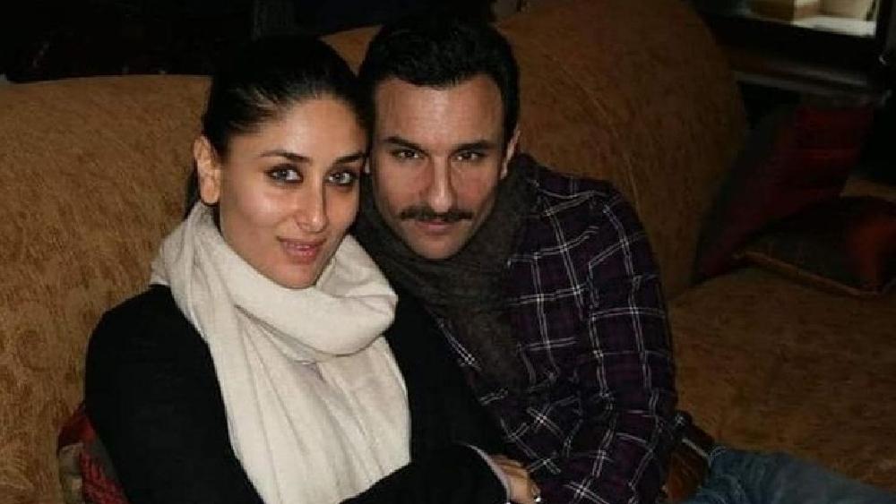 করিনা কপূর খান এবং সইফ আলি খান।