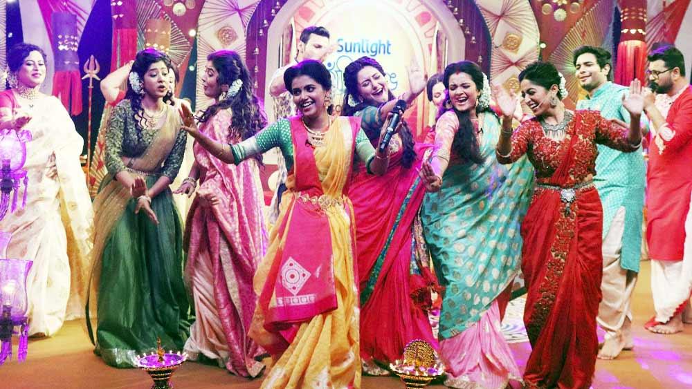 Durga Puja 2021: 'পারিবারিক' বিজয়া সম্মিলন জি বাংলায়, গানে গল্পে জমজমাট বৈঠকি আড্ডায় চরিত্ররা