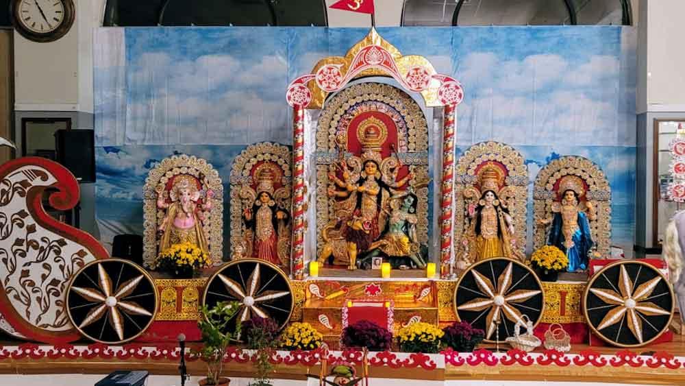 Durga Puja 2021: সপ্তাহান্তের কানসাস সিটিতে জমে গেল শারদ-আনন্দ