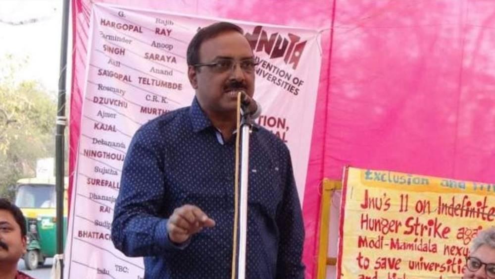 অধ্যাপক সুদীপ্ত ভট্টাচার্য।