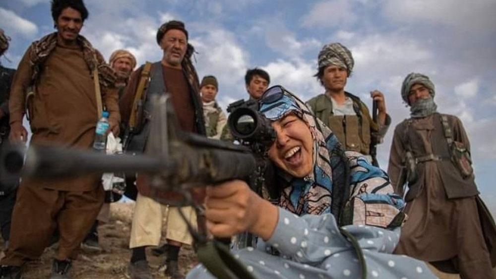 আফগানিস্তানের চহার কিন্ত-এর গভর্নর সালিমা মাজারি।