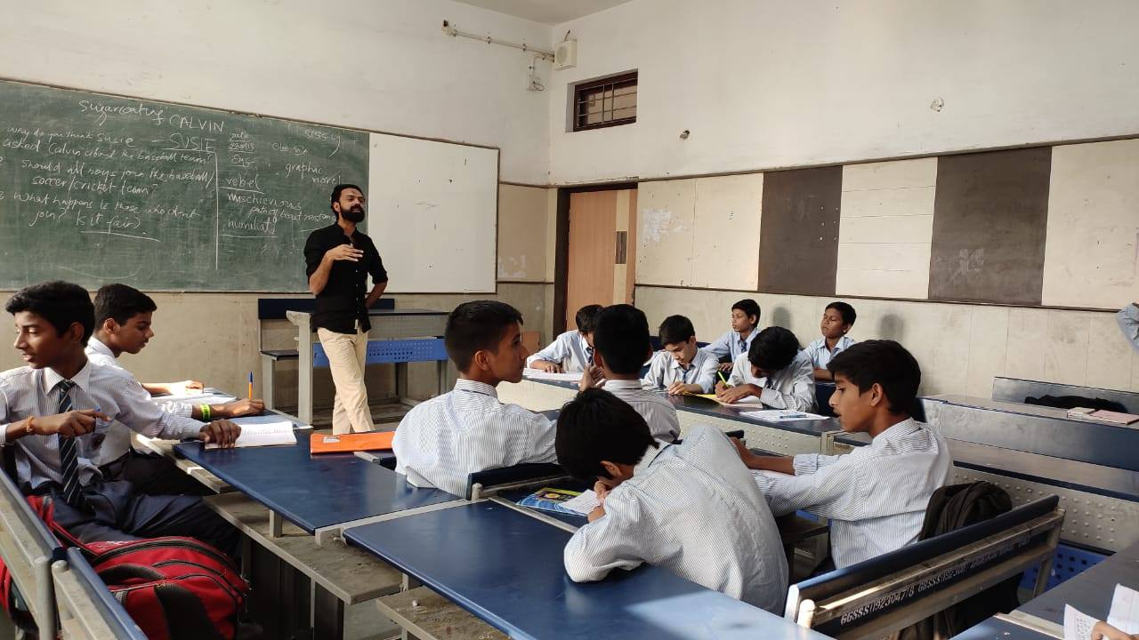 The Teach for India (TFI) fellowship offers opportunities to work with underprivileged children. PHOTO: FACEBOOK