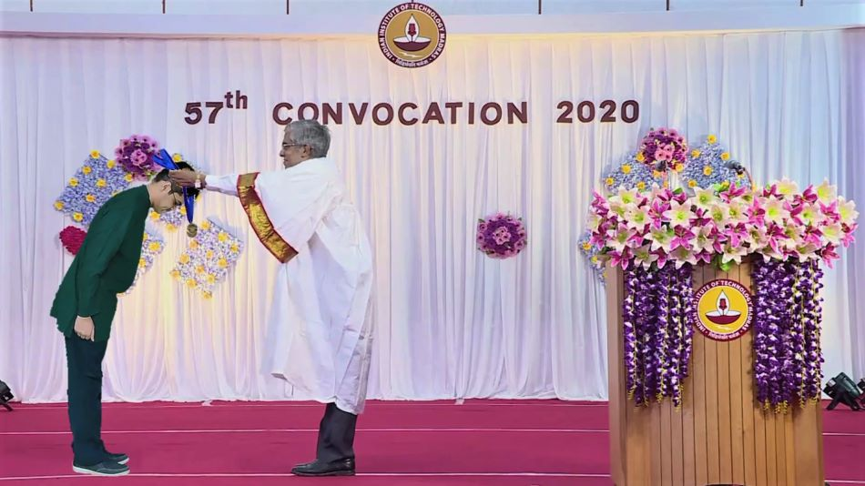 IIT Madras' 'mixed-reality' convocation saw a coming together of physical and virtual worlds. SOURCE: IIT Madras