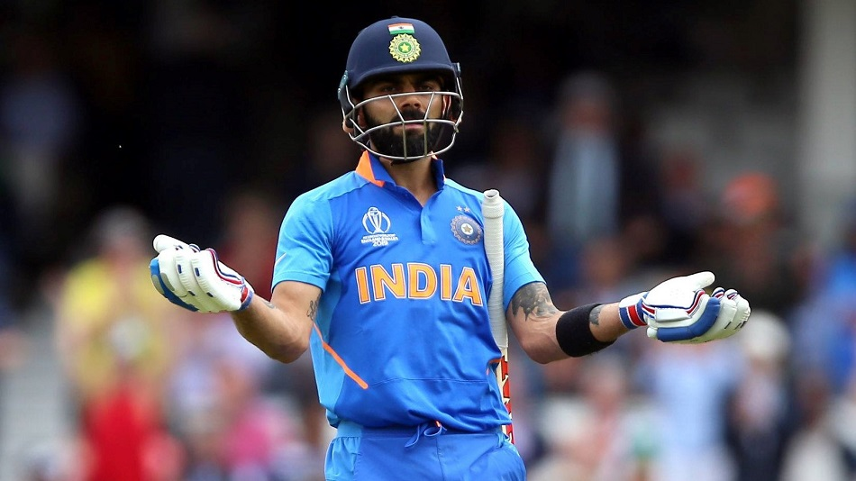 At the 2019 ICC Cricket World Cup, Kohli set a rare example of sportsmanship when he urged fans not to jeer Australia's Steven Smith. PHOTO: Facebook