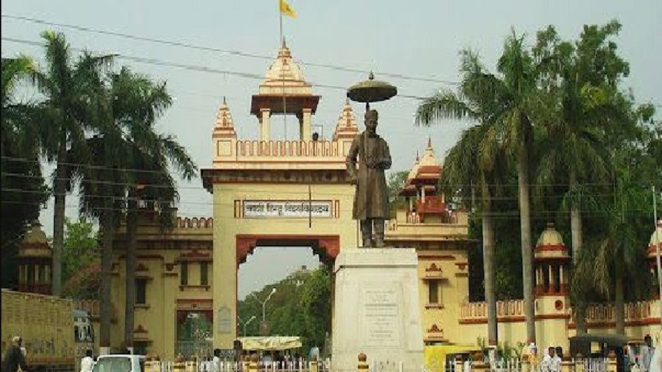 Only final-year PhD students will be allowed to enter the university in the first phase. Image Credit: BHU Official/Twitter