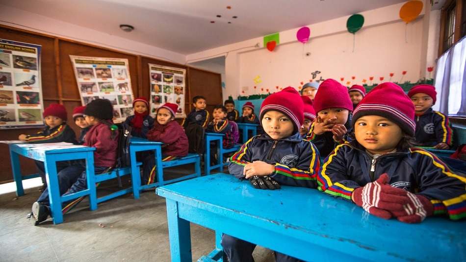 Fifty-six of Nepal's higher secondary schools will be rebuilt with the help of India. PHOTO: Shutterstock