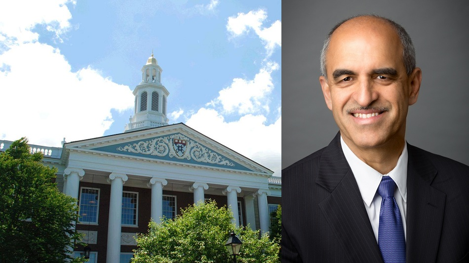 Datar joined HBS faculty in 1996 and has held a series of key positions. Photo: Harvard Business School website