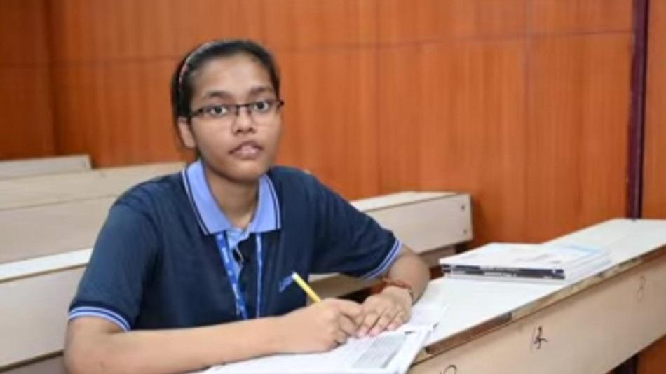 Akanksha credits her parents for the achievement. PHOTO: Facebook