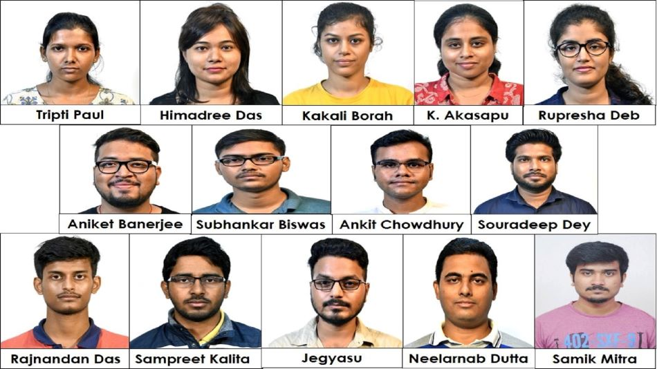 All 14 selected PhD students of IIT Guwahati (in picture) have been selected through the lateral entry channel. PHOTO: IIT Guwahati