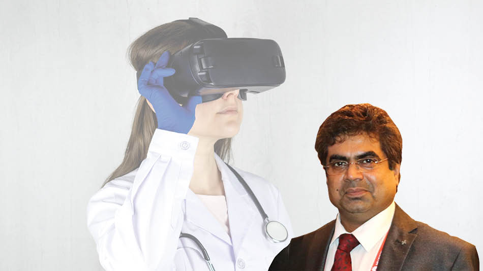 Be it in healthcare, training, military uses or even as a consumer product, the relevance of VR is only on the rise, writes (inset) Samir Mukherjee.