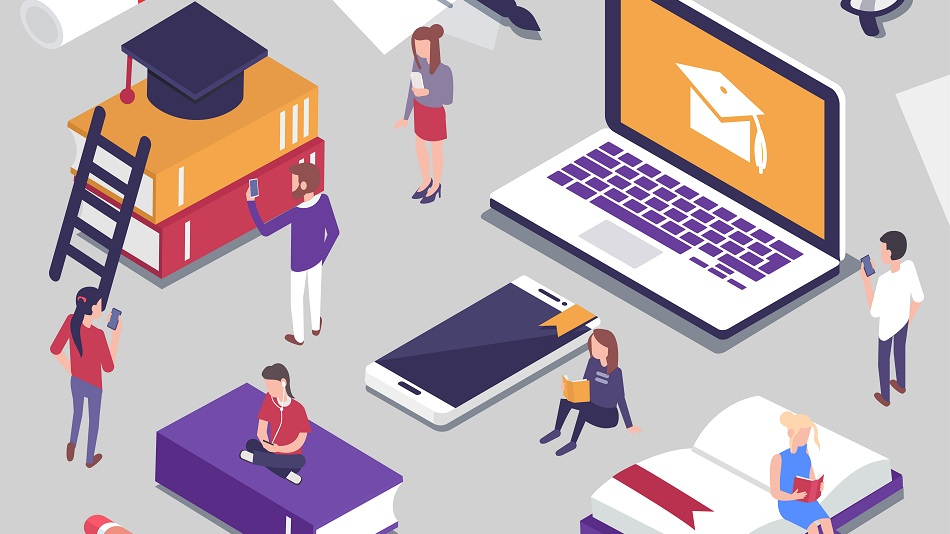 There are various applications available that make online teaching-learning fun. Illustration: Shutterstock