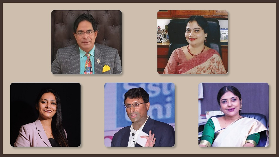 Career Call: (First row, from left): Suborno Bose and Rupkatha Sarkar; (second row, from left) Wilma Francis Alphonso, Anindya Ghosh and Bratati Bhattacharyya.