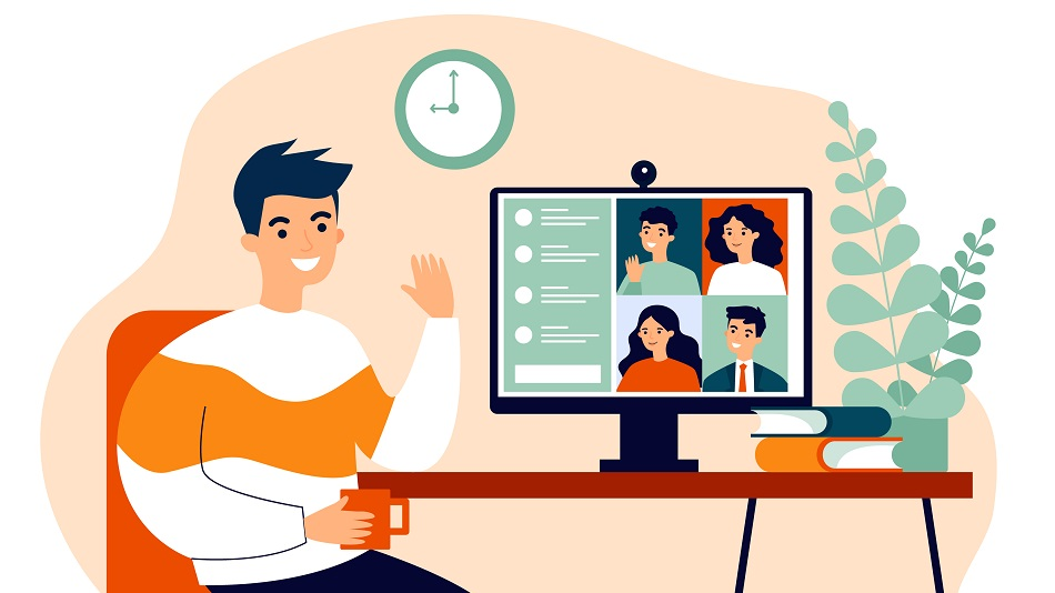 Encourage the remote learners to collaborate by providing them the platform to discuss and collaborate. Illustration: Shutterstock