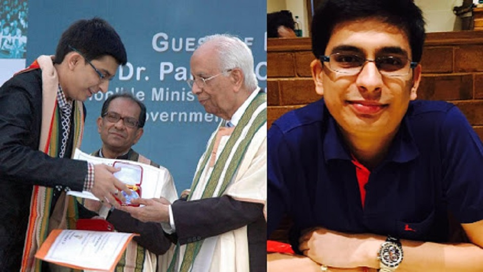 Being an IAS, I can work in sectors including commerce, tax, trade, education, agriculture, etc.: Raunak Agarwal. PHOTO: Facebook