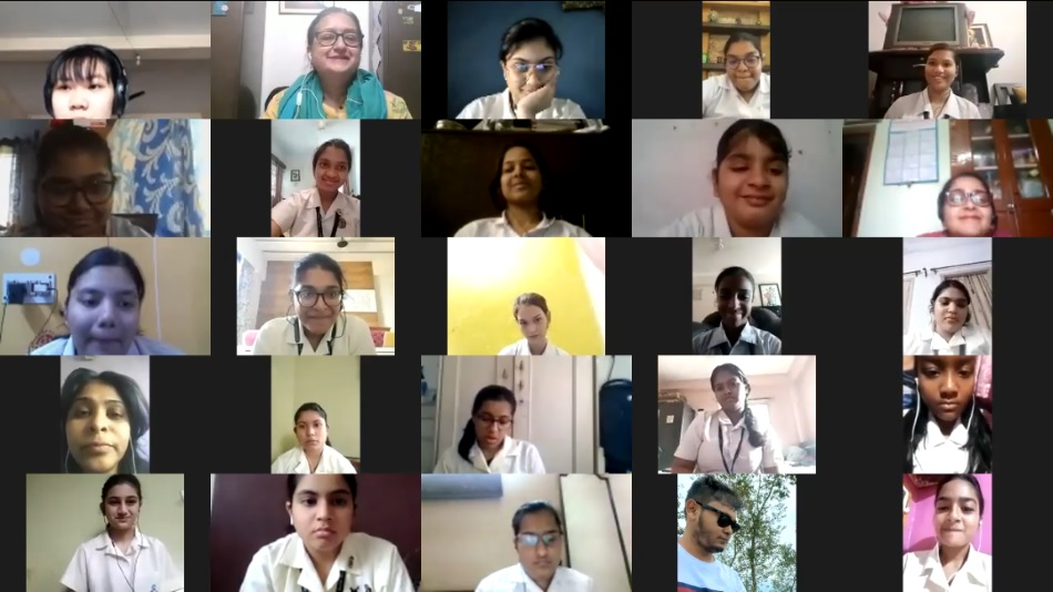 Career counselling session at Loreto House. Source: Loreto House.